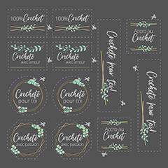 Étiquette Collection Nancy Cayouette  AC-NC004