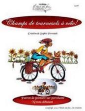 Champs de tournesols à vélo!
