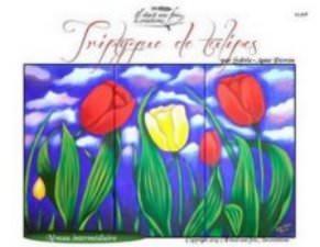 Triptyque de tulipes