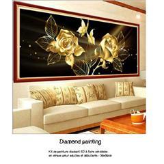 Diamond painting duo de roses