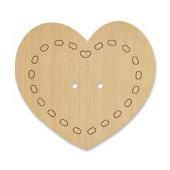 Bouton cœur 024