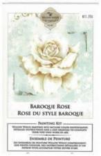 Rose du style baroque