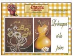Le bouquet et la poire