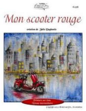 Mon scooter rouge