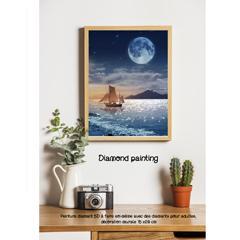 Diamond painting clair de lune