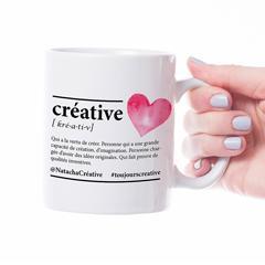 Tasse céramique - Créative - 12 oz