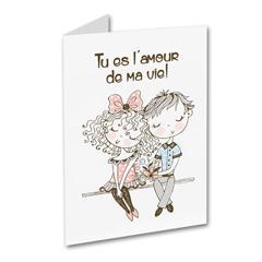 Carte de souhait - Tu es l'amour de ma vie
