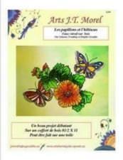 Les papillons et l'hibiscus