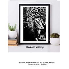 Diamond painting tigre