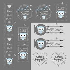 Étiquette Collection Nancy Cayouette  AC-NC002