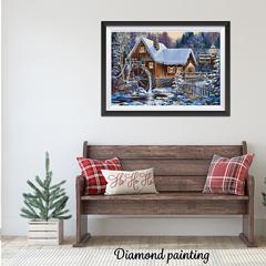 Diamond painting le moulin