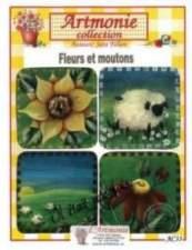 Fleurs et moutons
