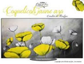 Coquelicots jaune azo