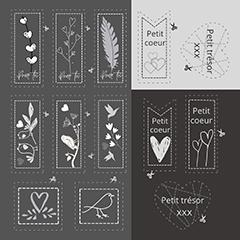 Étiquette Collection Nancy Cayouette  AC-NC003
