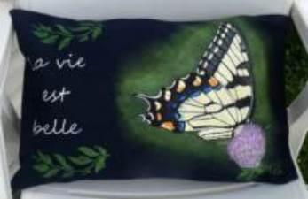 Papillon tigré