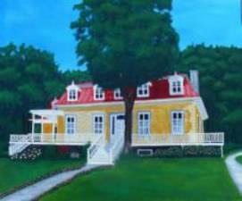 Une maison de l'île