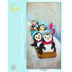 Toboggan de pingouins