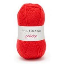 Phil Folk 50 50g Rouge