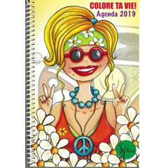 Agenda 2019 colore ta vie!