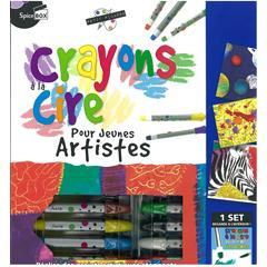 Ensemble de crayons de cire pour jeune artistes