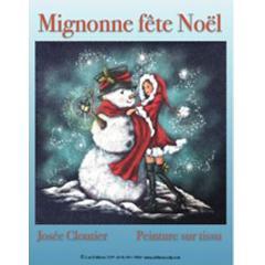 Mignonne fête Noël