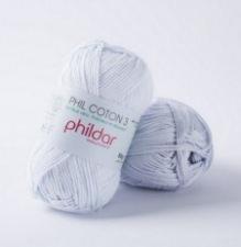 Phil coton no. 3 50g Ciel