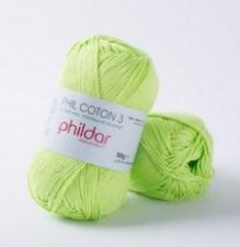 Phil coton no. 3 50g Pistache