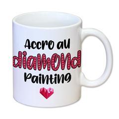 AC007 - Tasse céramique diamond painting