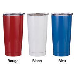 Tasse en stainless 20 oz bleu