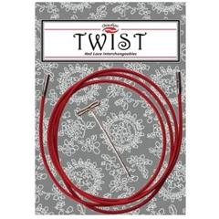ChiaGoo câble small Twist Rouge 37'' (93cm)