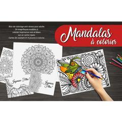 Livre à colorier Mandalas