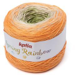Spring Rainbow 56 - Orange-Beige-Vert