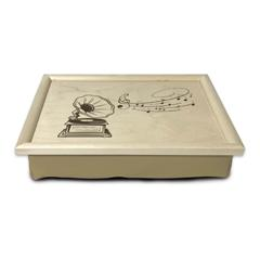 Coussin de lecture - Gramophone - Noir