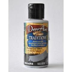 Traditions 3oz Medium Grey Value 6 DAT40