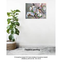Diamond painting l'amitié
