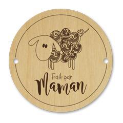 Bouton mouton - fait par maman 096
