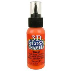 3D Gloss Enamel - Orange