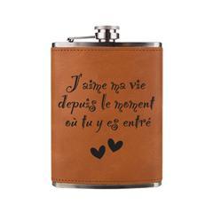 Flasque à boisson - J'aime ma vie...