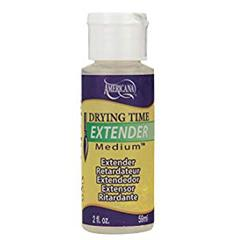 DecoArt drying time extender medium