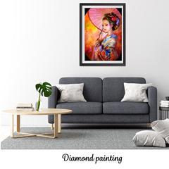 Diamond painting la geisha