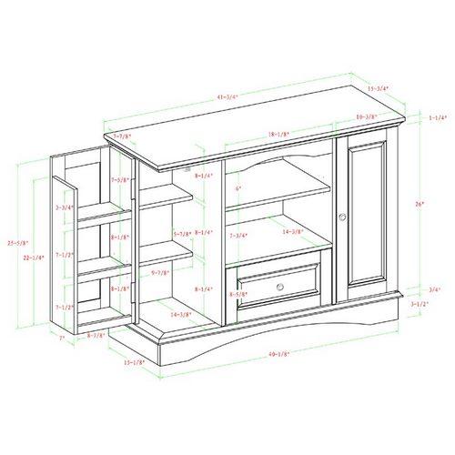 WALKER EDISON meuble télé