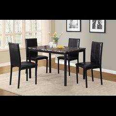 ROUND HILL chaises de cuisine (ens:4)