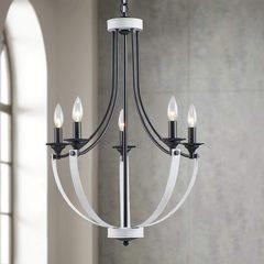 XINGQI chandelier 5 bougies