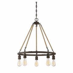 MERIDIAN chandelier rustique