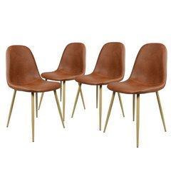 SIGNATURE DESIGN chaise de cuisine ensemble de 4