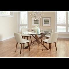 COASTER chaises (ens.2)
