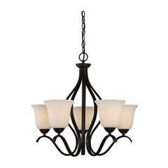 NUVO chandelier 5 lumières