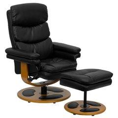 FLASH FURNITURE fauteuil avec repose pieds