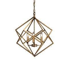 WILLA ARLO chandelier géométrique