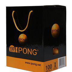 IPONG 100 balles de ping-pong orange
